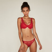 Soutien-gorge triangle push rouge everydayiz red.
