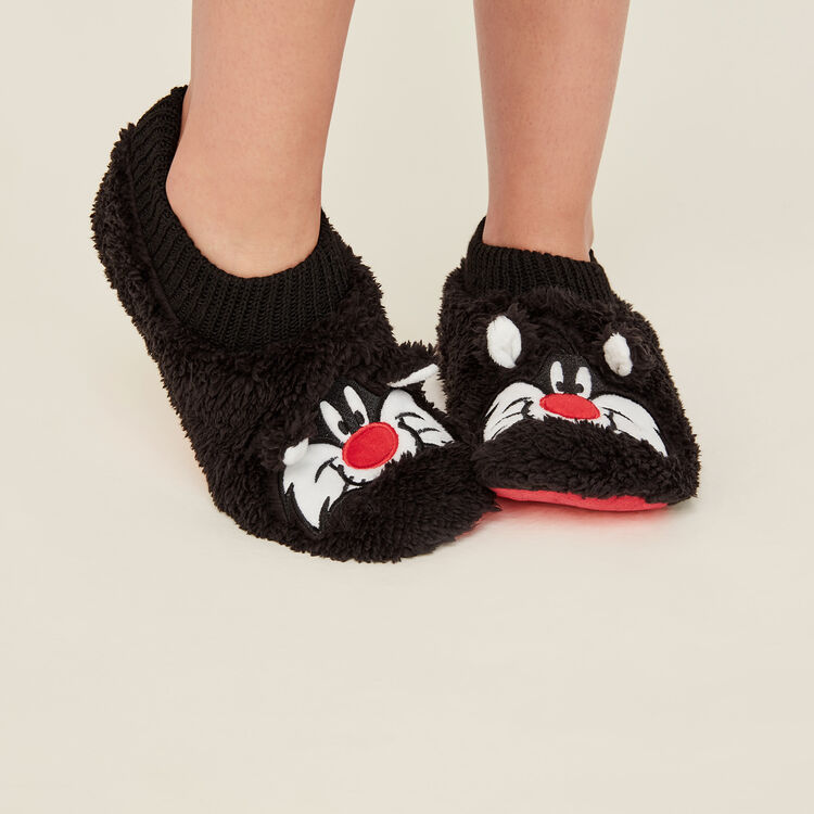 Chaussons grosminet noir cutecatiz black.