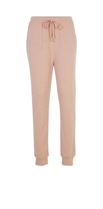 Pantalon rose clair lowpockiz pink.