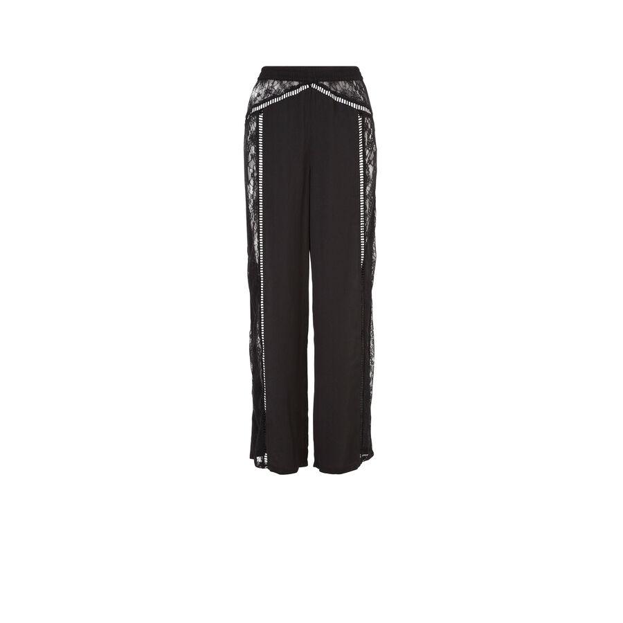 Pantalon noir nightopiz;