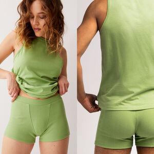 débardeur unisexe en jersey - vert