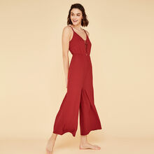 Combinaison rouge brique ribcriz brown.