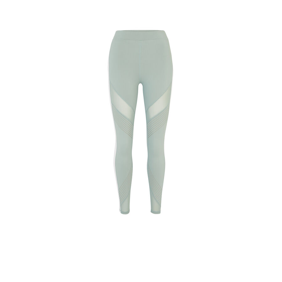 Legging bleu gris reflexiz;