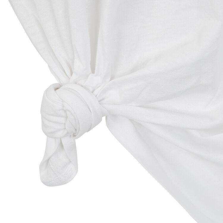 Top blanc intermouilliz white.