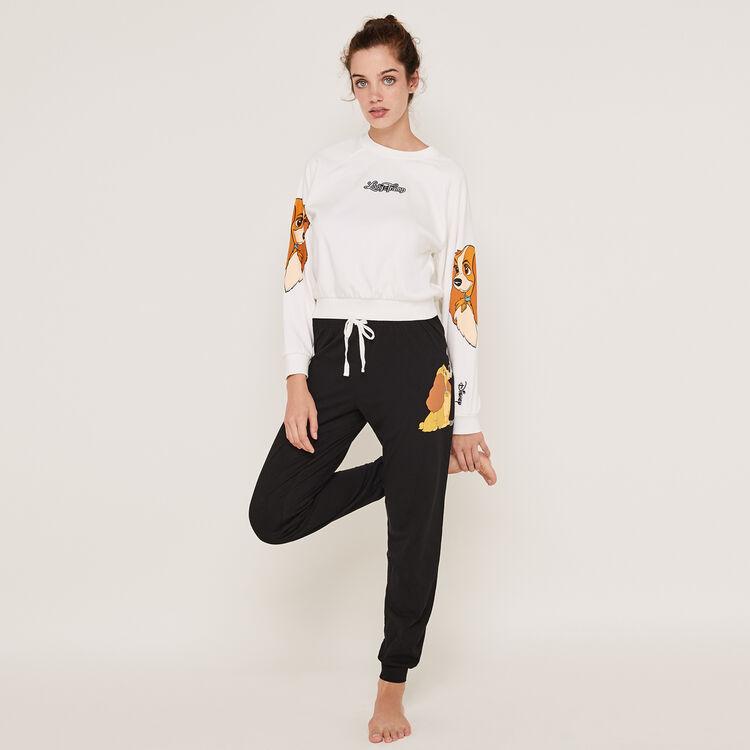 Pantalon en jersey print Lady teamladiz;