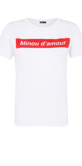 Top blanc minousiz white.