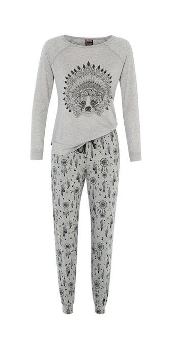 Ensemble de pyjama gris ratoniz  grey.