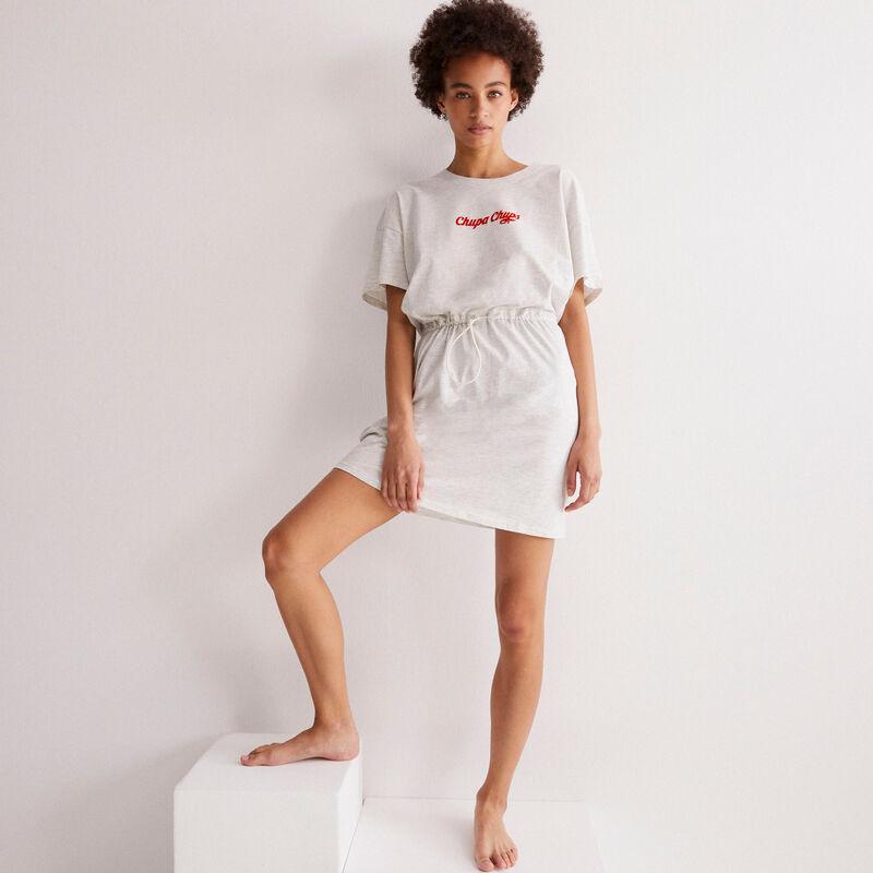 robe nouée Chupa Chups - gris chiné;