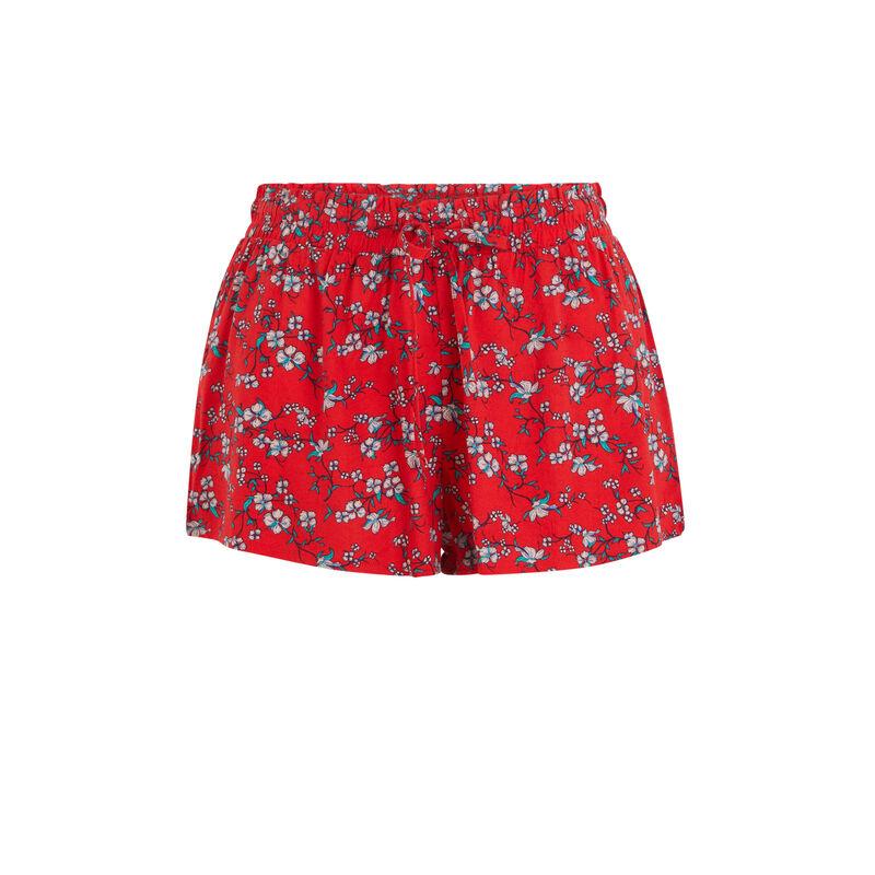 Short rouge losaniz;