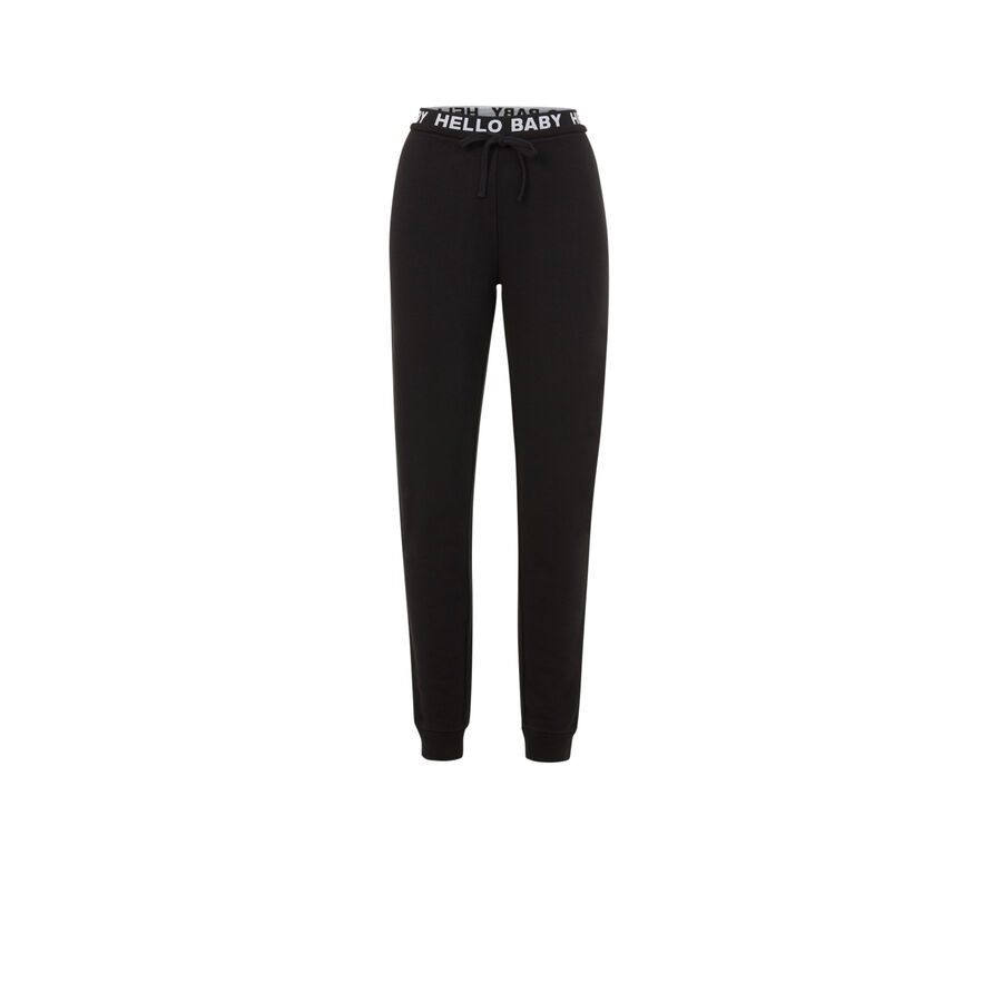 Pantalon noir hellobabiz;