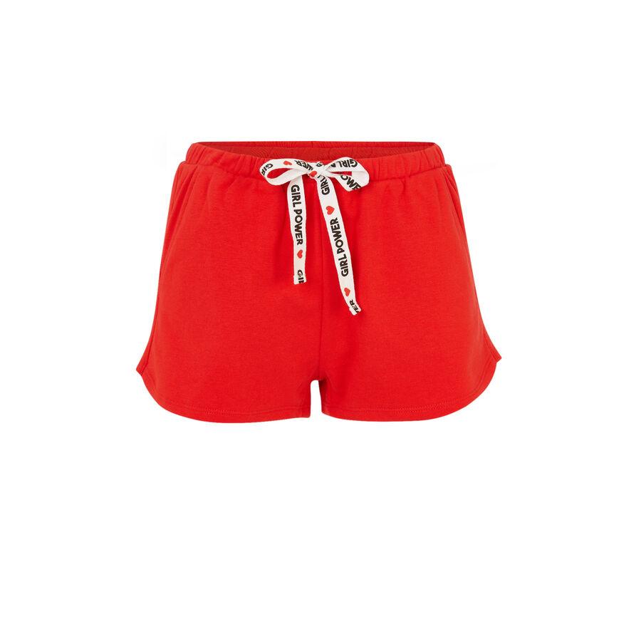Short rouge feminiziz;