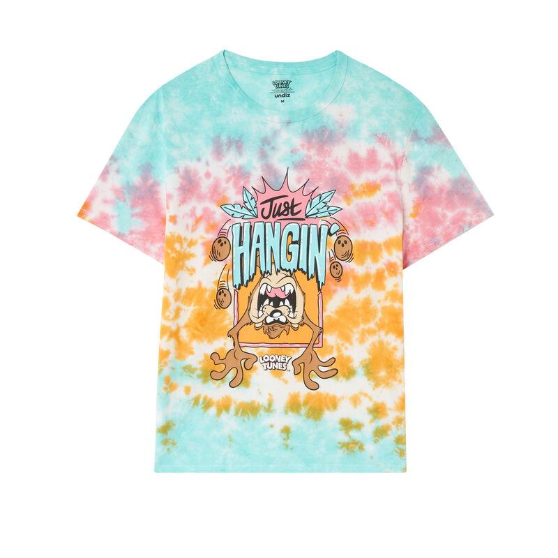 tee shirt Looney Tunes - mangue;