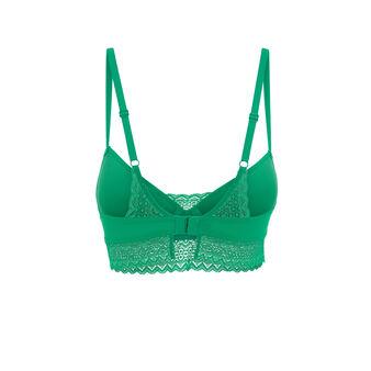 Soutien-gorge ampliforme vert émeraude aciduliz green.