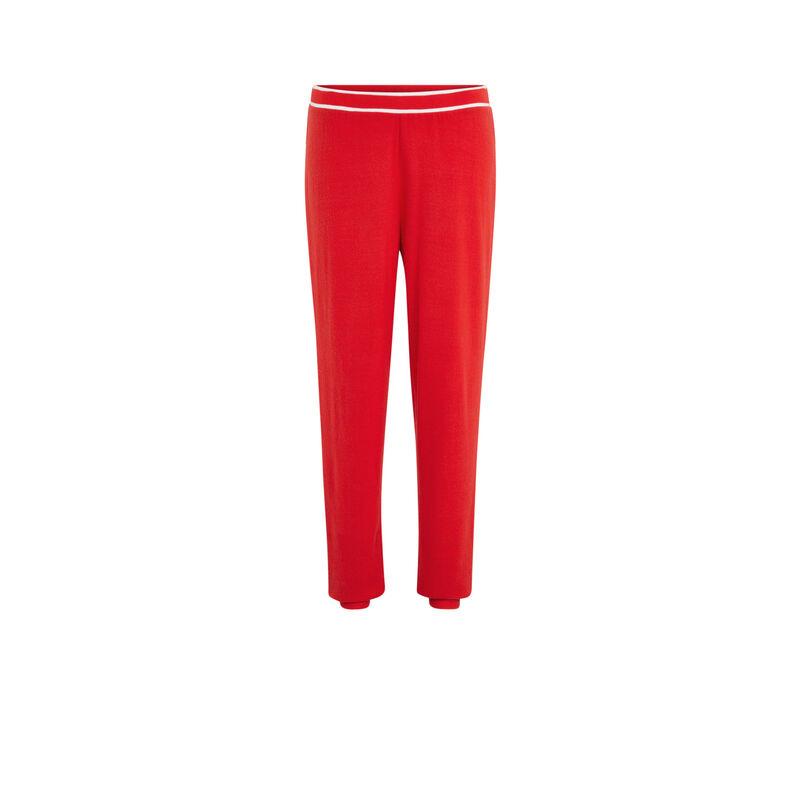 Pantalon élastique à la taille rougiz;