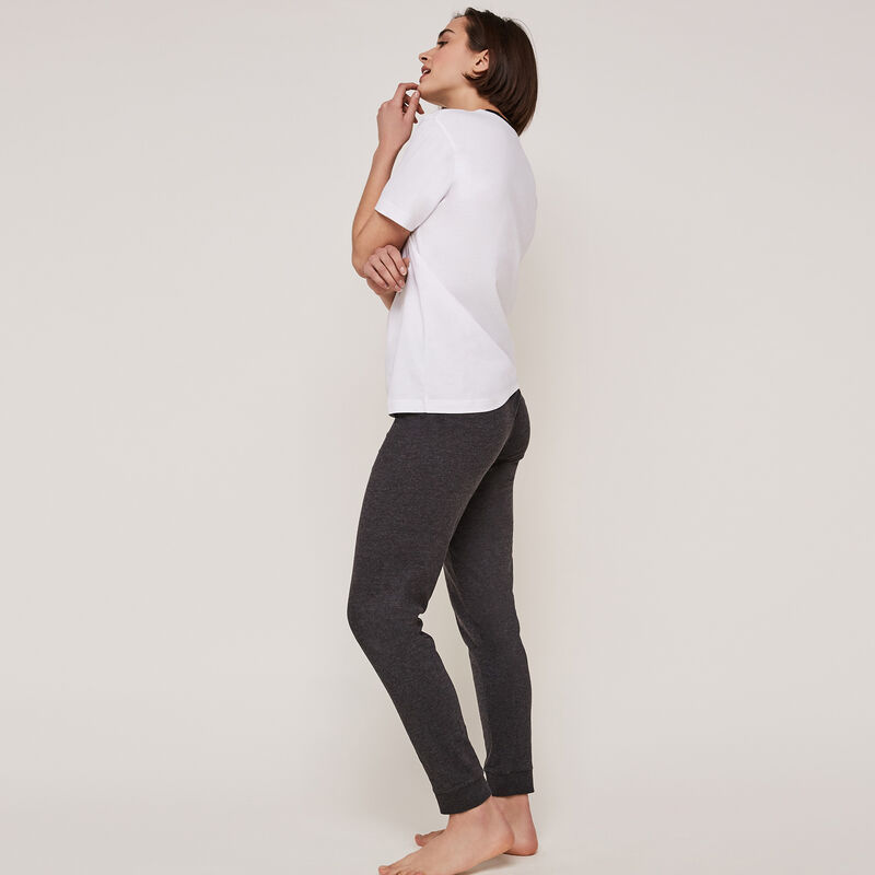 Pantalon jersey détail ceinture oupsybabiz;