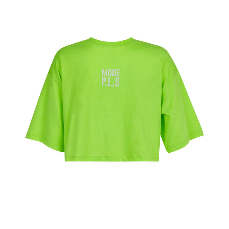 Top jaune fluo topfluoiz yellow.