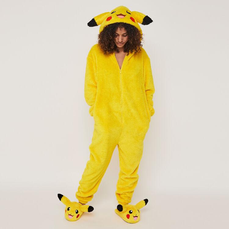 Chaussons polaires print Pikachu pikatiz;