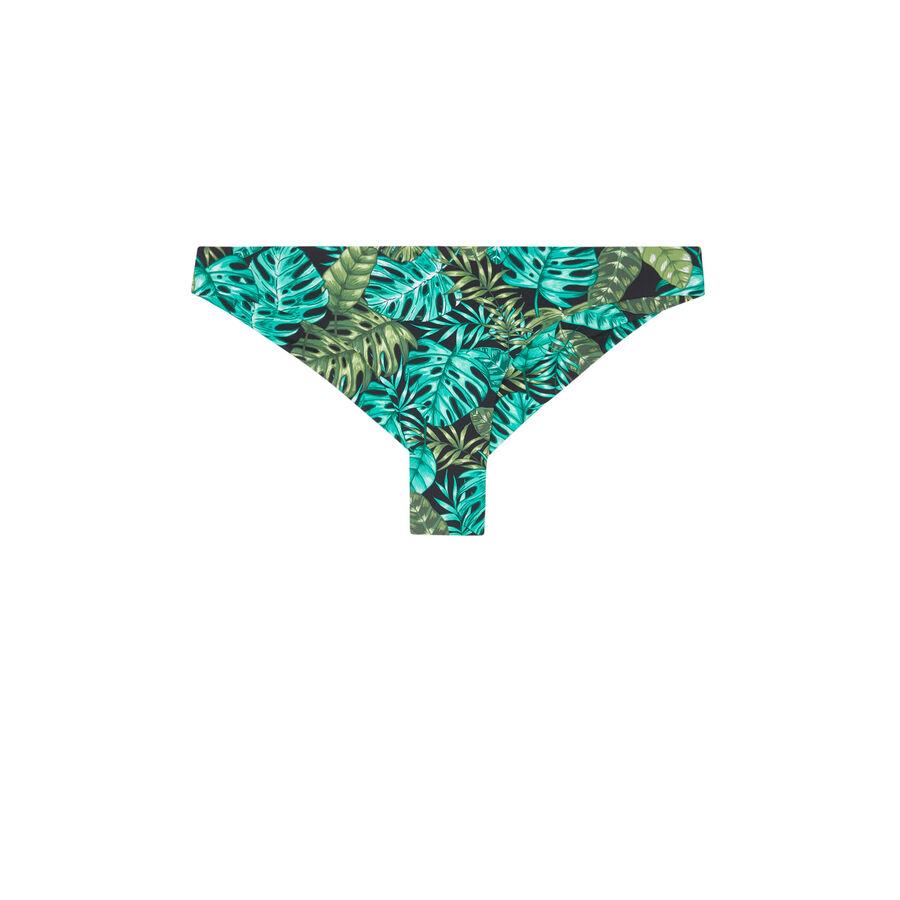 Maillot de bain tanga vert arubaiz;