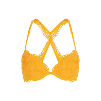 Soutien-gorge push jaune triamiz yellow.