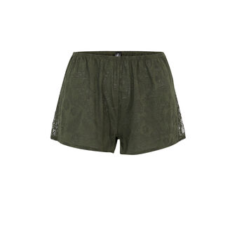 Short kaki tropaliz green.