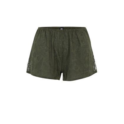 Short kaki tropaliz green.