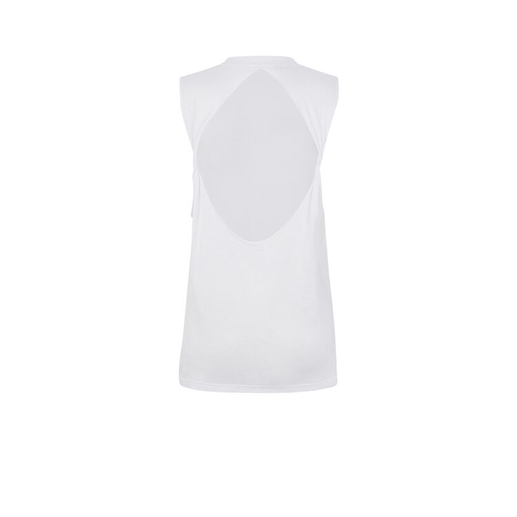 Top blanc newtorsidiz white.