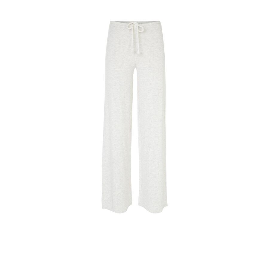 Pantalon beige chiné overtiz;${refinementColor}