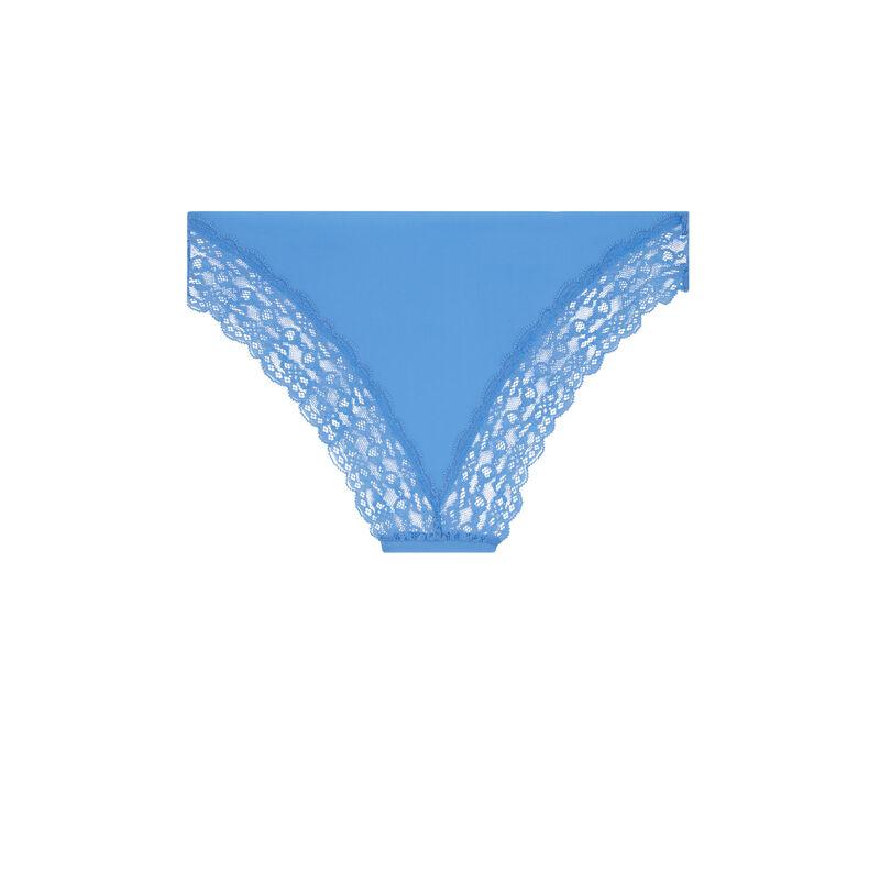 Culotte en micro - lilas;