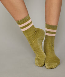 Chaussettes kaki shinefiz green.