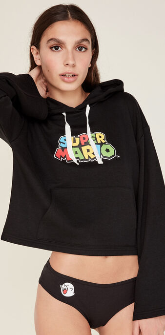 Sweat noir mariogamiz black.