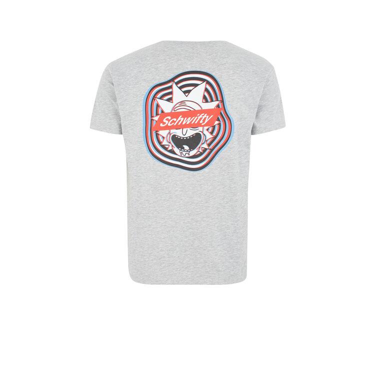 T-shirt gris gouriz;