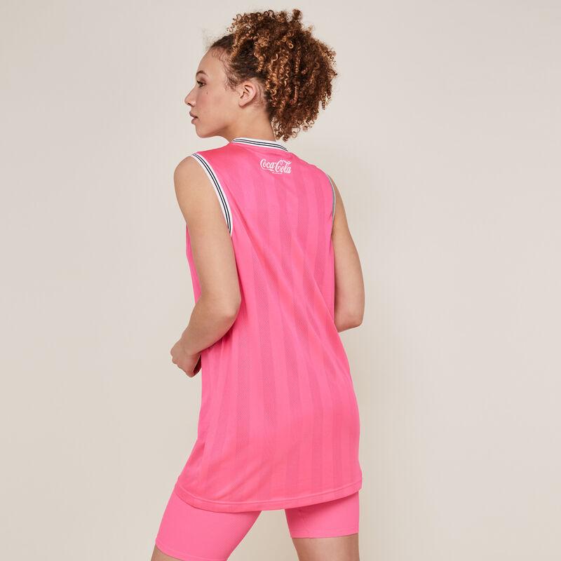 Cycliste en jersey - rose fluo;