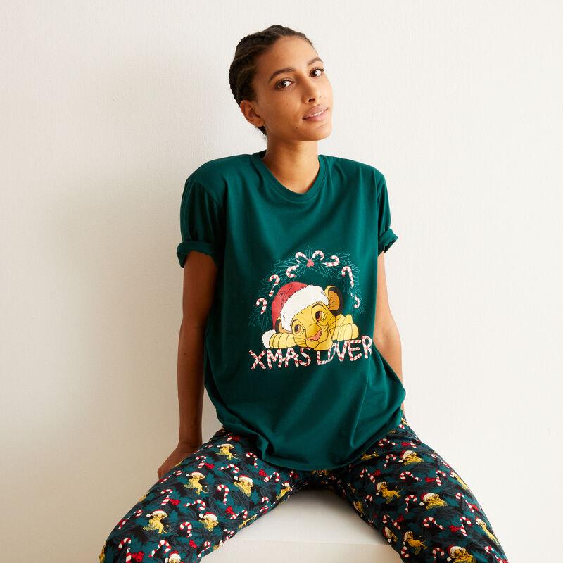 set de pyjama Simba - vert;