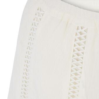 Short blanc cassé lilopopiz white.