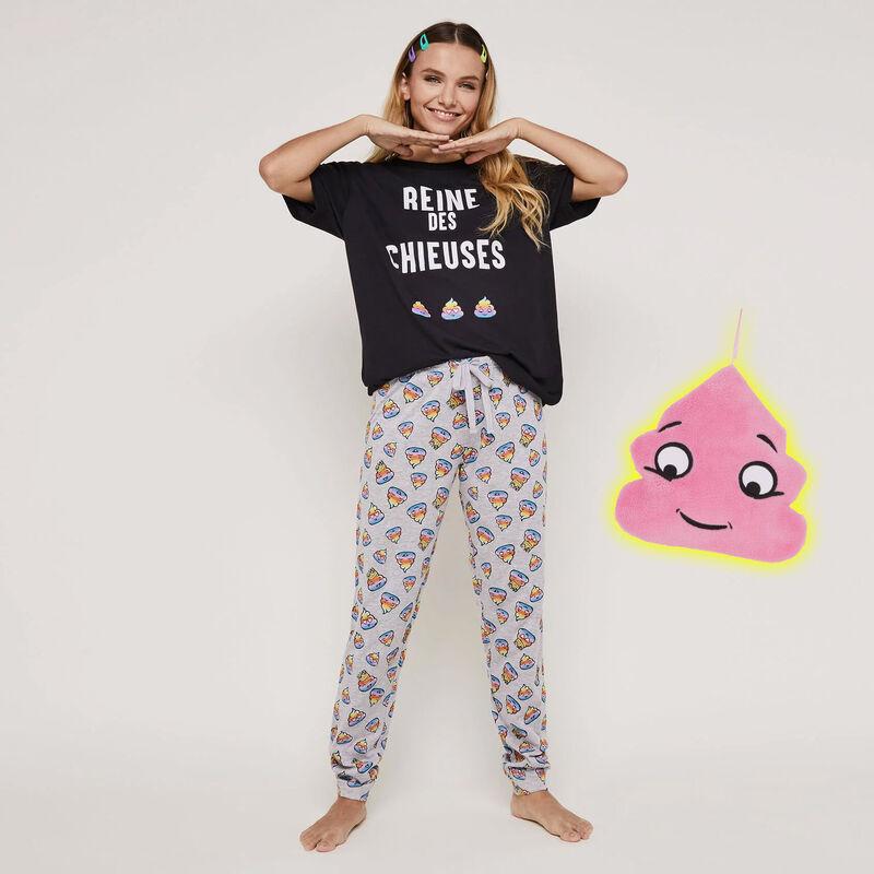Set pyjama top + pantalon à imprimé reinchieusiz;