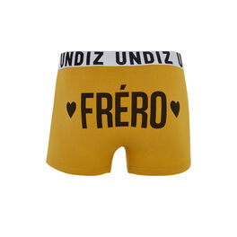 Freriz golden yellow boxer shorts yellow.