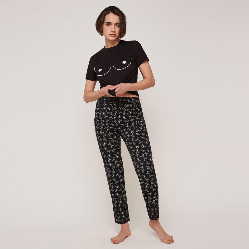 Pantalon à imprimé lovebodiz;