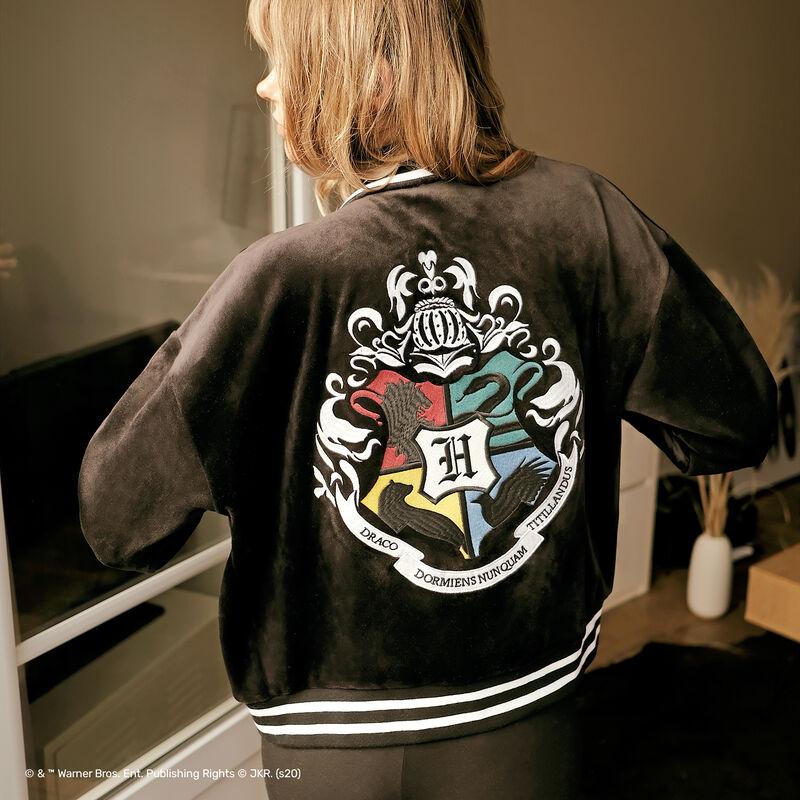 veste à emblème Harry Potter - noir;