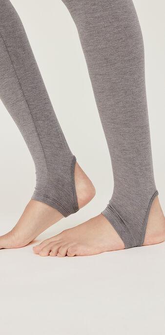 Legging gris warmiz grey.