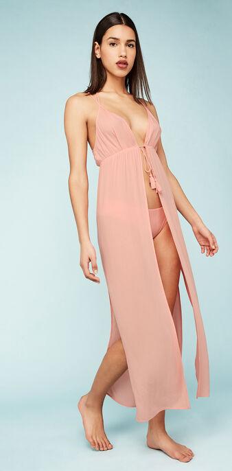 Robe longue rose dolidiz pink.