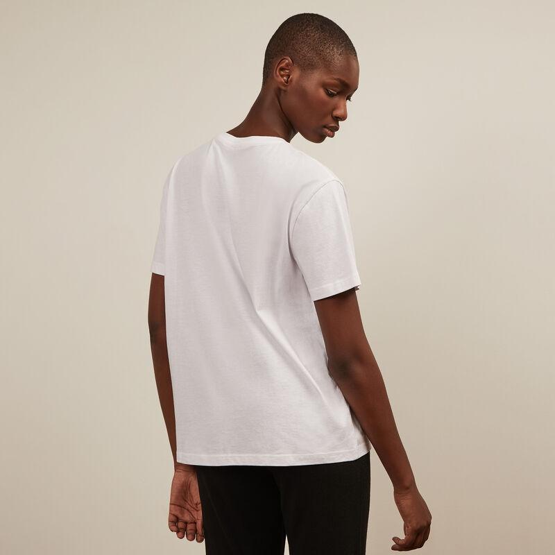 top imprimé colors boobs - blanc;