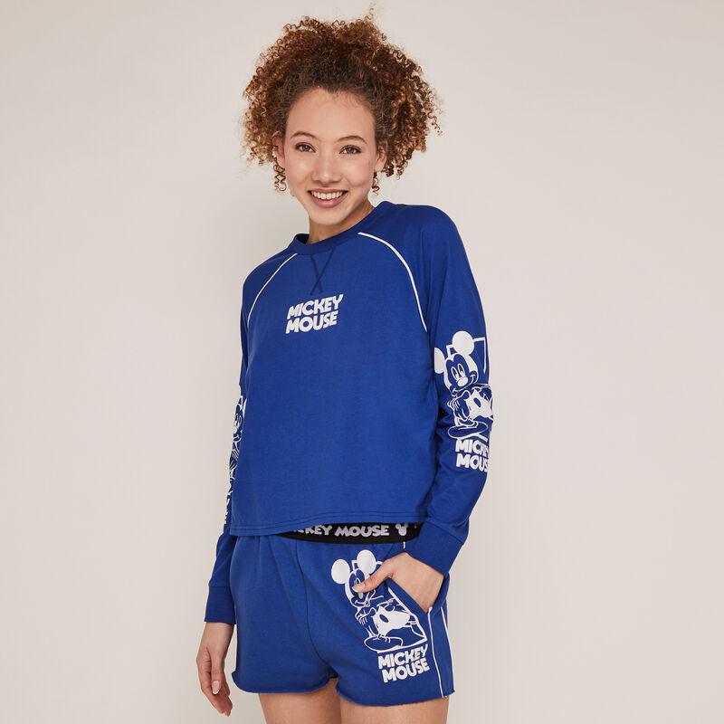 Short imprimé mickey - bleu;