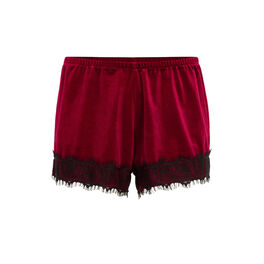 Faujeaniz burgundy shorts red.