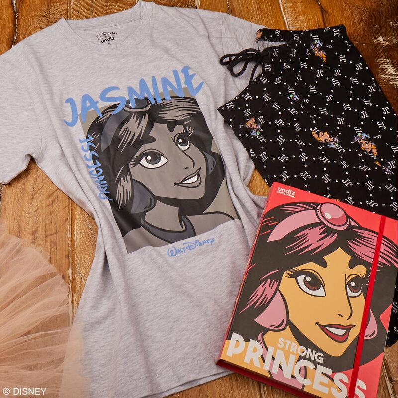set pyjama manches courtes Jasmine - gris;