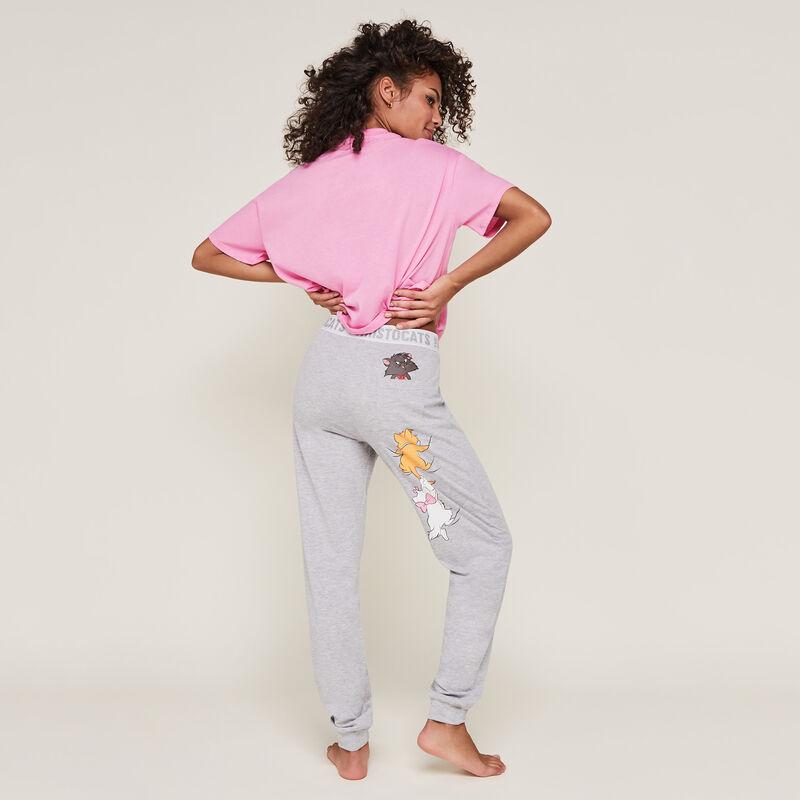 pantalon imprimé les aristochats aribetiz;