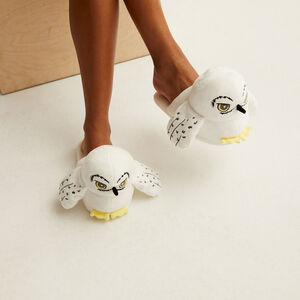 chaussons hedwige - blanc