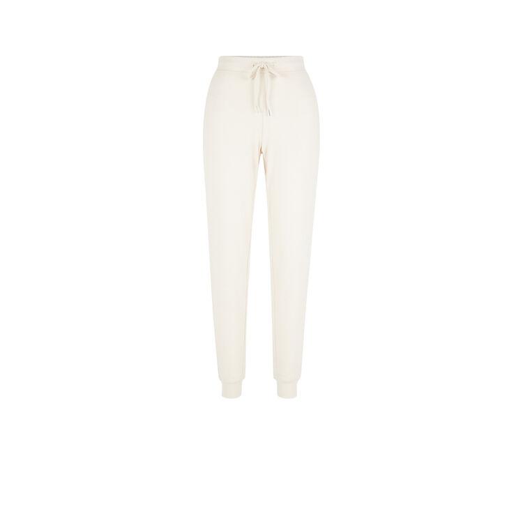 Pantalon beige quodiz white.