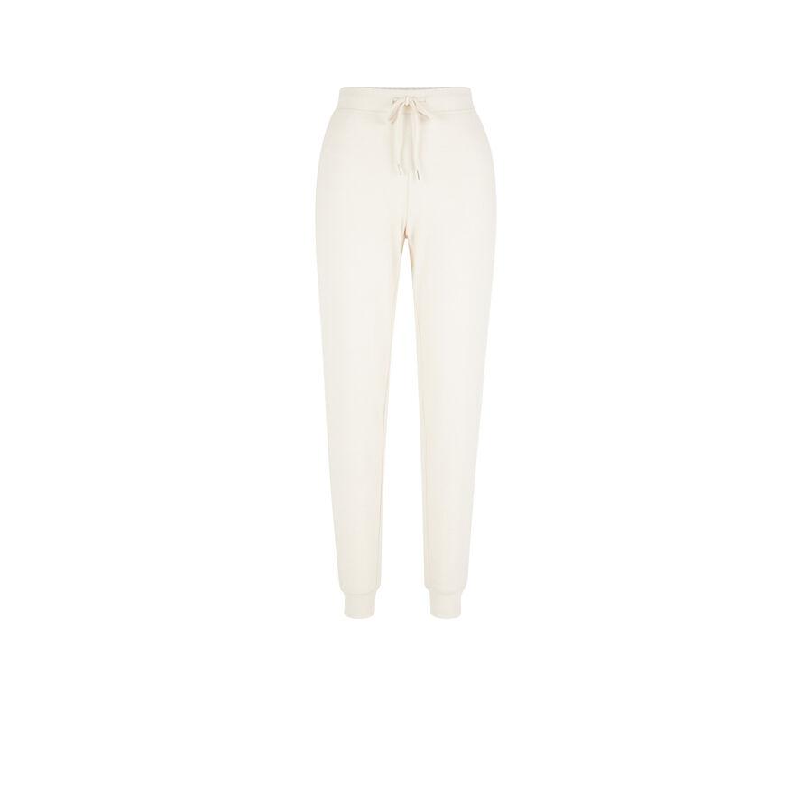 Pantalon beige quodiz;
