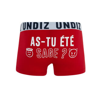 Boxer rouge vif passagiz red.