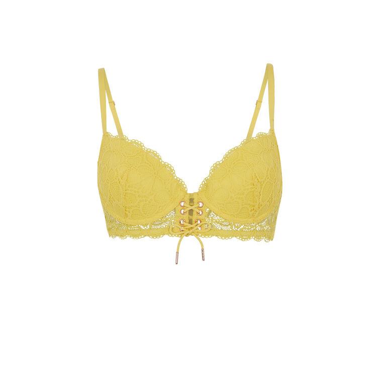 Soutien-gorge bustier ampli jaune sherifiz yellow.